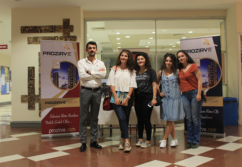 Prozirve Kültür Üniversitesi'nde Öğrenciler İle Buluştu!